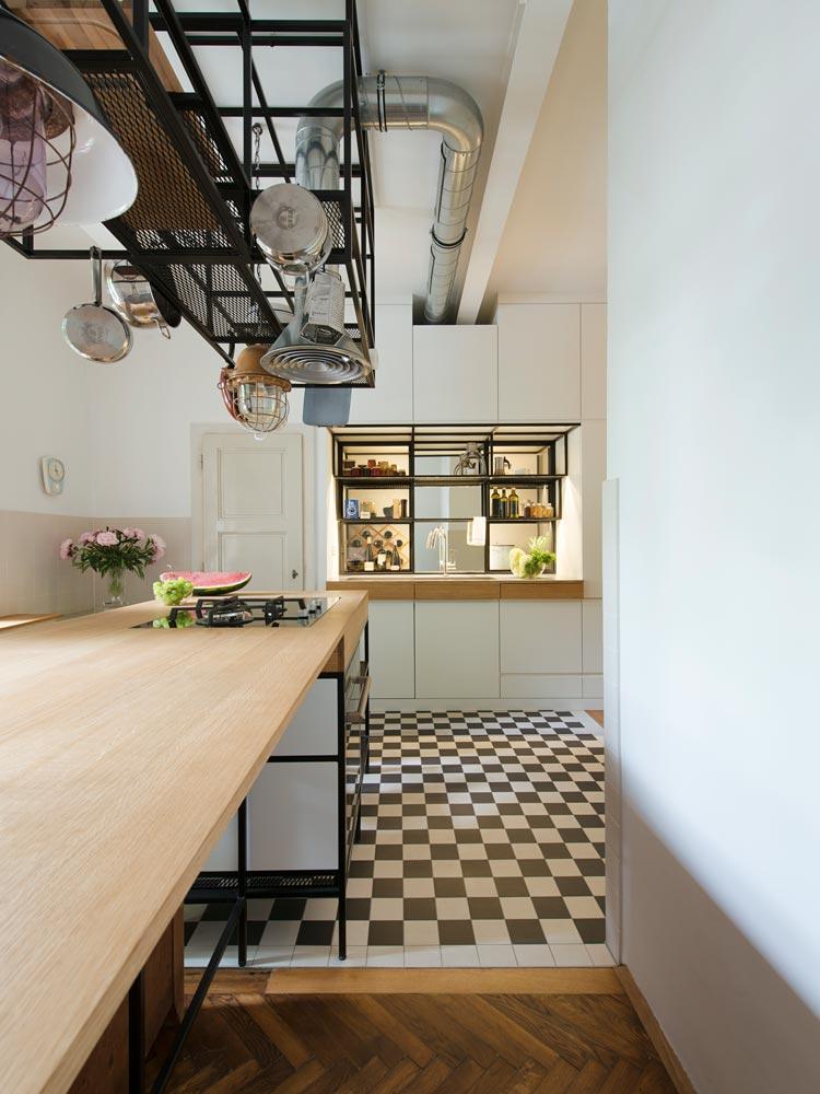 Hängeregal küche  IFUB * Wohnung S * Altbauwohnung * Sanierung